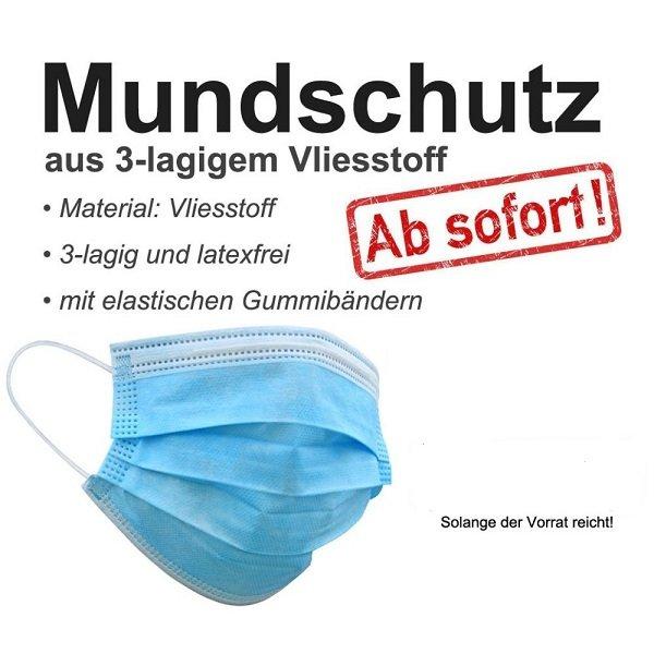 50 Stück  -  Atemschutzmasken